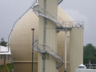 Wastewater Treatment Plant Expansion with a Class A Egg Digester
